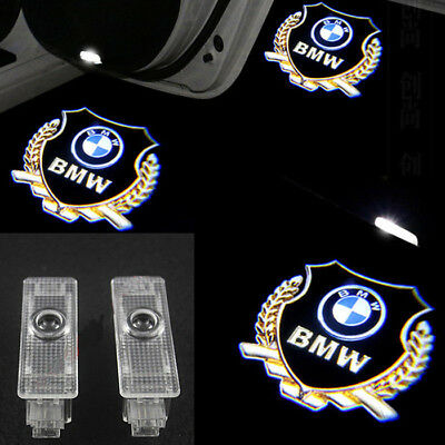 For BMW 1 3 5 7 Series X3 X5 X6 Ghost LED Door Step Courtesy Shadow Laser Lights