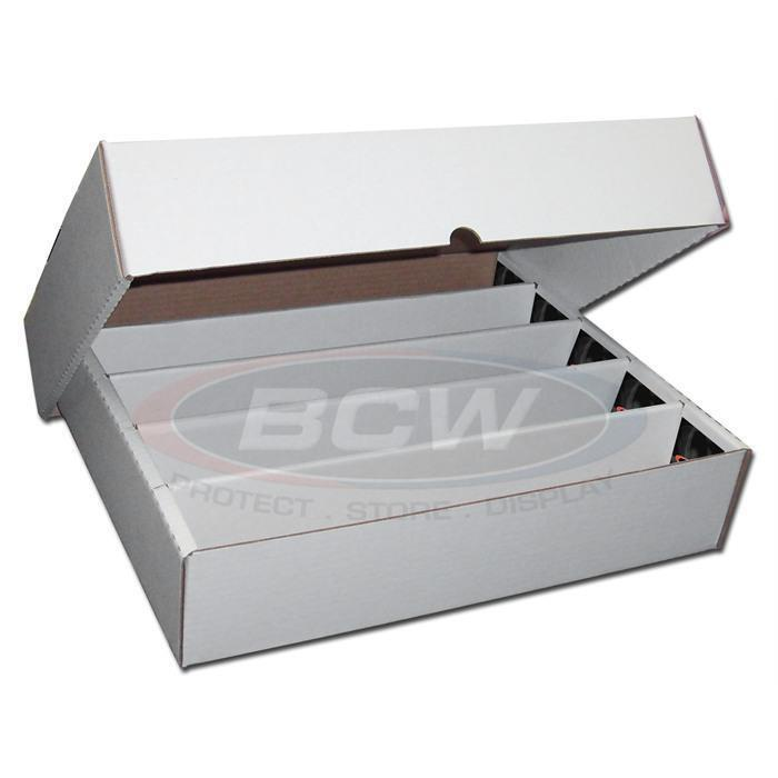 """AND 1000 BCW Penny Sleeves 1000 3/"""" x 4/"""" BCW Card Topload Holders toploaders"""