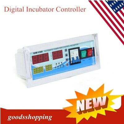 Digital Incubator Controller Temperature Humidity Automatic Bird Egg Turning New