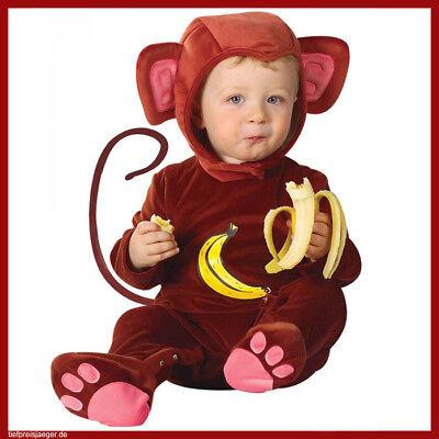 Karneval Affenkostüm Kinder Jungen Tierkostüm 82/86/90 2756 (Baby Affen Kostüm)