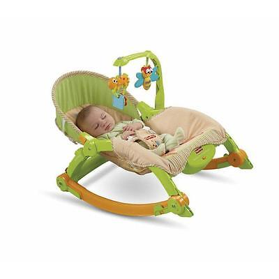 Fisher Price NEWBORN-TO-TODDLER PORTABLE ROCKER T2518 New Sealed