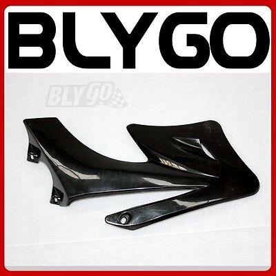BLACK Plastic Front LEFT Side Tank Guard Fender APOLLO ORION Styl PIT Dirt Bike