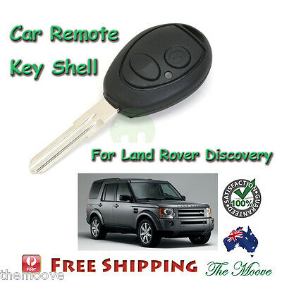 Brand NEW Remote Key Shell FOB 2 Button Case For Land Rover Discovery 1999-2004