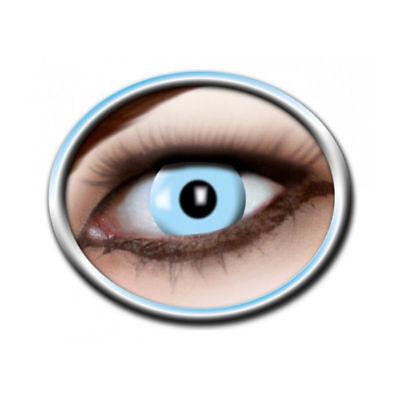 Kontaktlinsen Ice Blue Motivlinsen Verrückte Augen Halloween Funlinsen