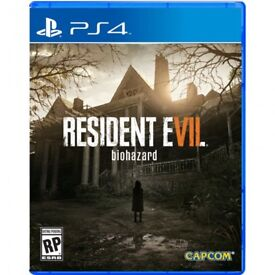 Resident Evil 7 for the ps4