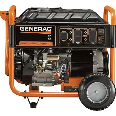 Portable Generator - Gas - 9375 Watts - Electric Start - 420cc - 7.5 Gallons