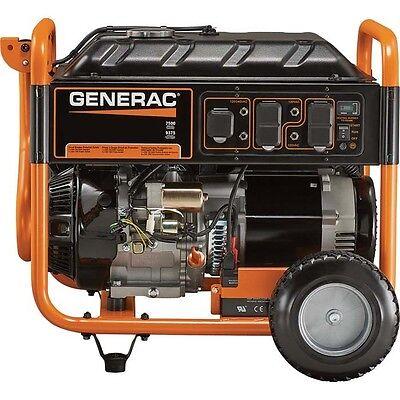Portable Generator - Gas - 9375 Watts - Electric Start - 420cc - 7.5 Gallons