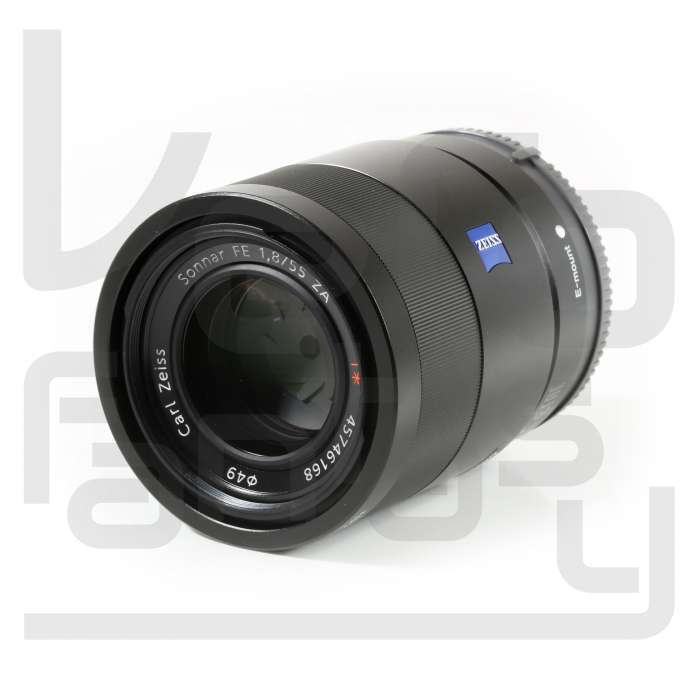 Sony Sonnar T FE 55mm f/1.8 ZA Lens for Most Sony a7-Series Cameras Black SEL55F18Z