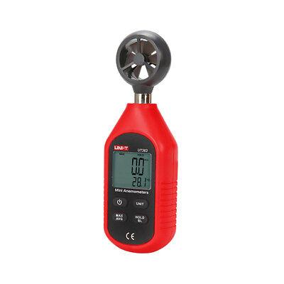 UNI-T UT363 Mini Digital Wind Geschwindigkeit Meter Pocket Anemometer