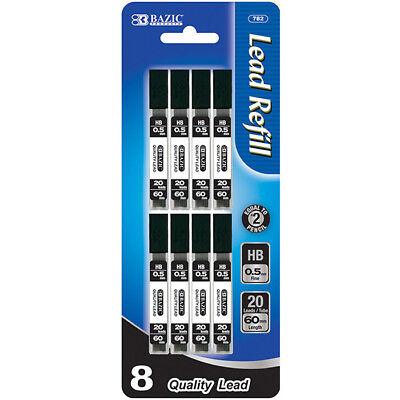 160 Pcs 0.5 Mm Mechanical Pencil Lead Refills 20 Leads Per Tube 8 Per Pack