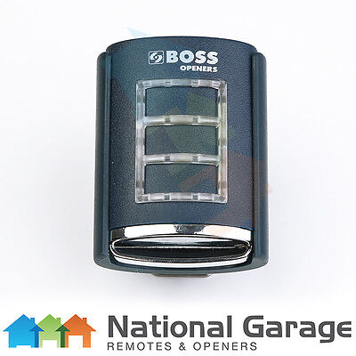Boss BHT-3 Remote 433Mhz Suits Boss Openers On 433MHz Frequency Genuine & New