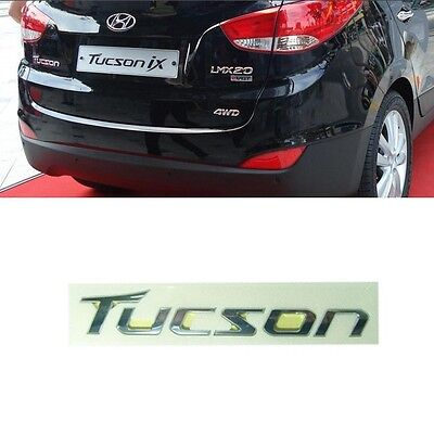 Tailgate TUCSON emblem for 2010 2011 2012 2013 2014 2015 Hyundai Tucson ix35