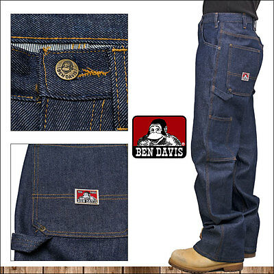 Ben Davis Jeans carpenter pants Indigo Blue Denim 776 All Sizes  Carpenter Blue Denim Jeans