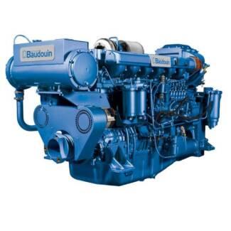 Marine propulsion engines  Baudouin 6W126M