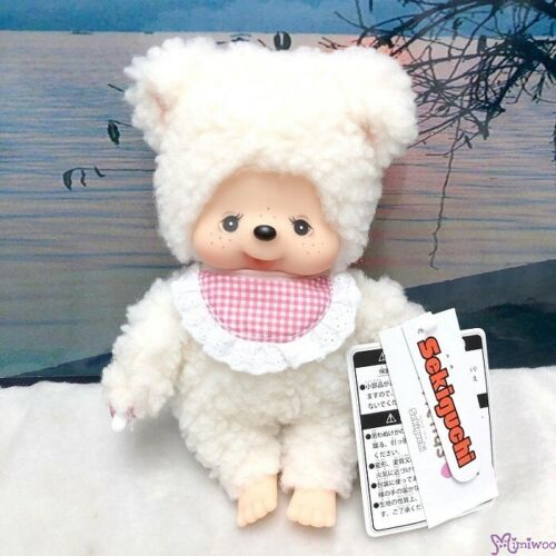 Sekiguchi Monchhichi Friends S Size Plush Cham Sheep ~~ 262250 ~~