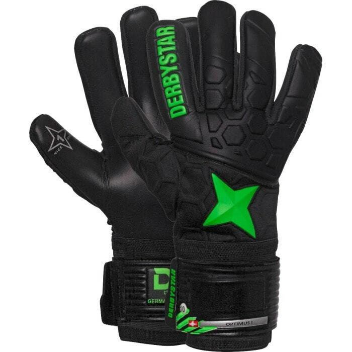 Derbystar Torwarthandschuhe Optimus I Kinder Herren TW-Handschuhe Fussball