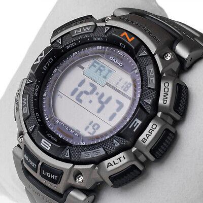 Casio Pro Trek Solar Reloj de pulsera para Hombre 10 ATM PRG-240T-7ER...