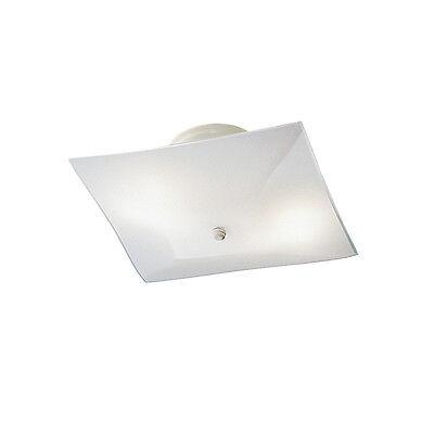 (Kichler7260WH Ceiling Lighting Flush Mount Light Chandelier 2 Light Lamp Pendant)