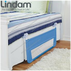 Childrens Safety Bed Guard - Blue