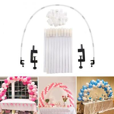 Table Balloon Arch Stand Kit Adjustable Tabletop Wedding Birthday Party Decor - Table Balloon Arch Kit