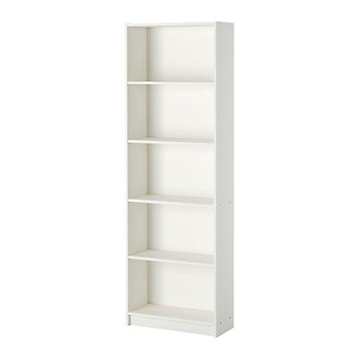IKEA GERSBY MOBILE SCAFFALE LIBRERIA PER CASA UFFICIO BIANCO A PARETE 60x180cm