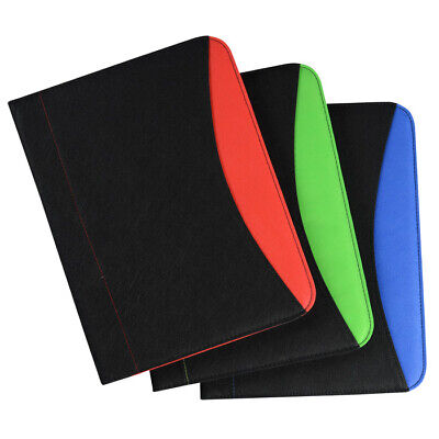 Bic Non Woven Curve Padfolio W30 Sheet Writing Pad Case Of 40 - Red Color