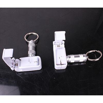 101x Eas Retail Hook Display Antitheft Stop Lock Security Stoplock Magnetic Key