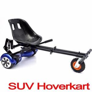 Hoverkart seat attachment for hoverboard or self balance scooter. Go kart conversion kit for hoverboard - hovercart