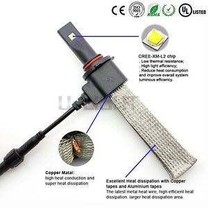 New H11 led conversion kit bulbs (not for projector style headli
