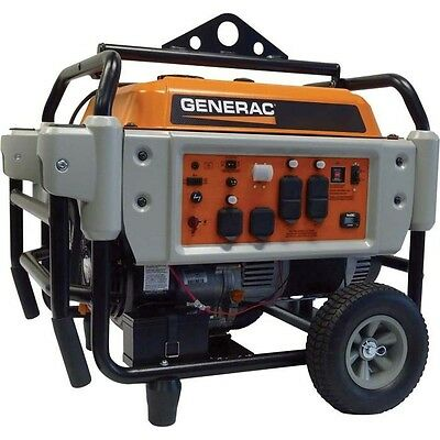 Portable Gas Generator - 10000 Watts - Electric Start - Carb - 9 Gallon - 410cc