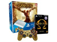 God of War LIMITED EDITION White Playstation 3 bundle