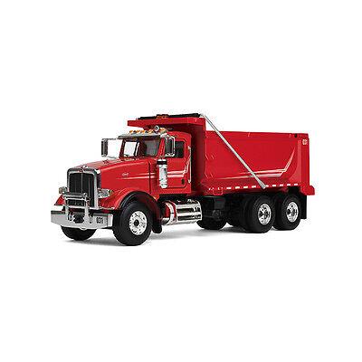 1:50 First Gear *RED* Peterbilt Model 367 Dump Truck *NIB!*