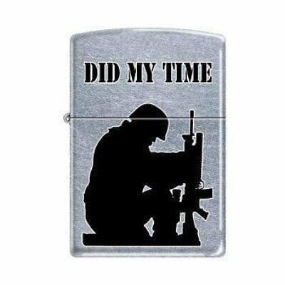 Zippo Lighter - Did My Time Street Chrome - 853226
