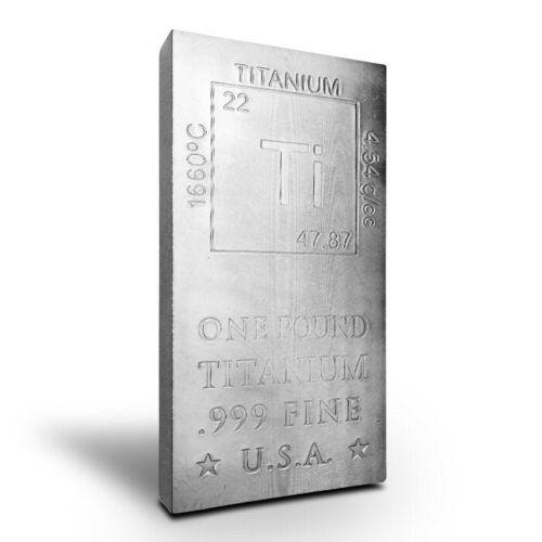 1 Pound Titanium Bar - Elemental