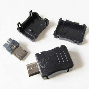5-sets-USB-Male-plug-Connector-Micro-5pin-with-Cover