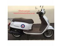 2009 SYM FIDDLE 125 VERY CLEAN SCOOTER ONLY 3999 MILES MUST BE SEEN £725