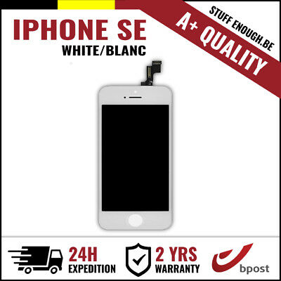 A+ LCD TOUCH SCREEN VITRE TACTILE SCHERM/ÉCRAN WHITE BLANC FOR IPHONE SE/5S