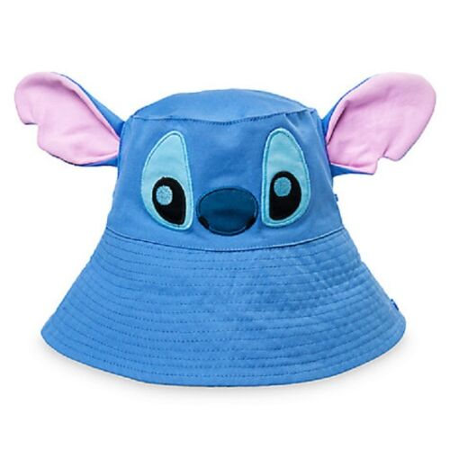 DISNEY STORE STITCH CHARACTER SWIM HAT FOR BABY EMBROIDERED DETAIL FLOPPY EARS