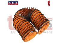 Sealey VEN200AK1 Flexible Ducting Ø200mm 5mtr Used with Sealey Ventilator Ventilator Ducting Flexi