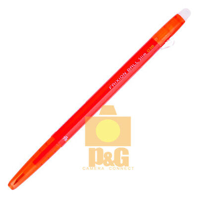 Pilot Frixion Colors Erasable Marker Ball Slim 0.38mm Gel Pen Red Lfbs-18uf