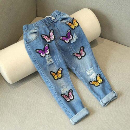 1pc baby kids girls clothes jeans denim pants kids girls fashion trousers
