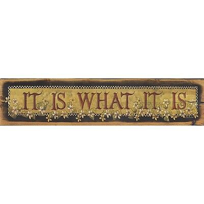 Art Print, Framed or Plaque by Lisa Hilliker - It Is What It Is - HILL207 - Lisa Frame