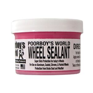 Poorboys Alloy wheel sealant metal rim wax polish rimwax 8 0z pb-ws09