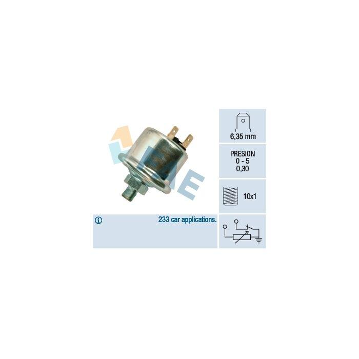 FAE Sender Unit, oil pressure Oil pressure pick-up 14740