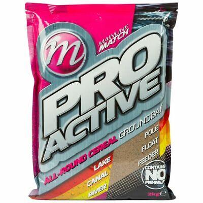 Mainline Match Pro-Active Grounbait 2kg *Coarse Feeder Fishing