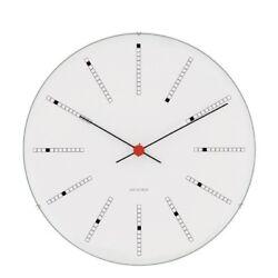 Rosendahl Designer Arne Jacobsen wall clock BANKERS 11,42 inch. Danish Design
