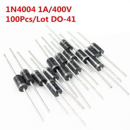 50 PCS 1N4004 IN4004 DO-41 1A 400V Rectifie Diodes NEW