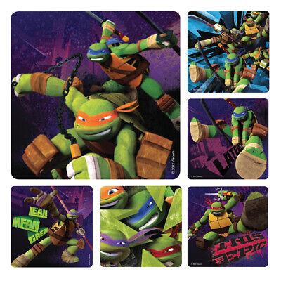 25 Teenage Mutant Ninja Turtles Stickers Party Favors Teacher TMNT](Teenage Mutant Ninja Turtles Party Favors)