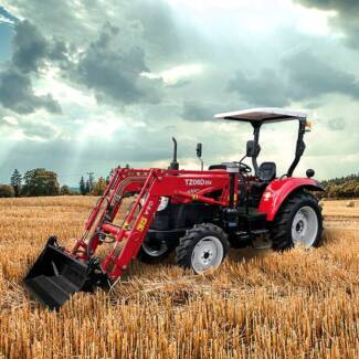 YTO MF554 - 4WD tractor NEW - AIRCAB - Finance/Rent-to-Own $196pw