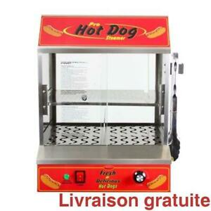 Machine a hot-dogs / BULLSEYE HOT DOG STEAMER